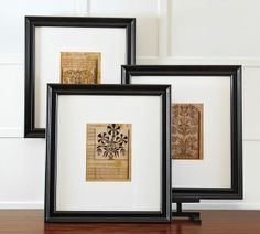 American Folk Art Museum Museum Craft Collection Framed Tune Book Prints, Set of 3 on shopstyle.com