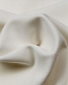 High quality polyester and elastane blend crepe fabric with a slight stretch. A double-sided fabric with a matte crepe face and a satin reverse in ivory. Crepe Fabric, Ivory, Satin, Face, Fashion, Moda, Fashion Styles, Elastic Satin, The Face