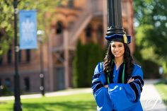Graduation photo at Seton Hall University