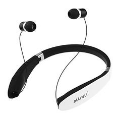 Special Offers - Bluetooth 4.0 Headphones aLLreLi Soba Retractable Foldable Neckband Wireless Stereo Headset Universal for iPhone 6S / Plus Galaxy S6 Edge HTC and Other Bluetooth Enabled Devices - In stock & Free Shipping. You can save more money! Check It (June 01 2016 at 02:12PM) >> http://ift.tt/1UtwBde