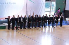 Este - Campionato Regionale Veneta Danza Sportiva. Momenti della cerimonia di apertura