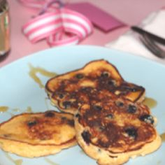 Ricotta and blueberry pancakes, perfect long weekend brekkie