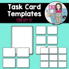editable task cards template apple theme pinterest template