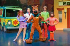 Scooby and the gang on stage. Philadelphia Restaurants, Philadelphia Sports, Family Show, New Shows, Back In The Day, Touring, Scooby Doo, Musicals, Mystery