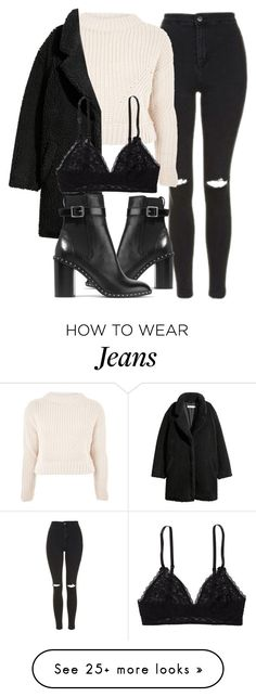"""Untitled #7090"" by laurenmboot on Polyvore featuring Topshop, Aerie and rag & bone"