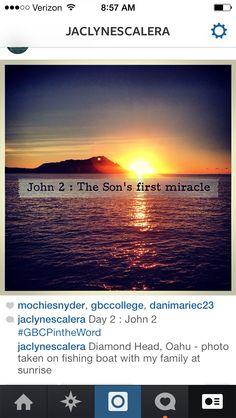 Morning HI Devotion - John 2 #GBCPintheWord