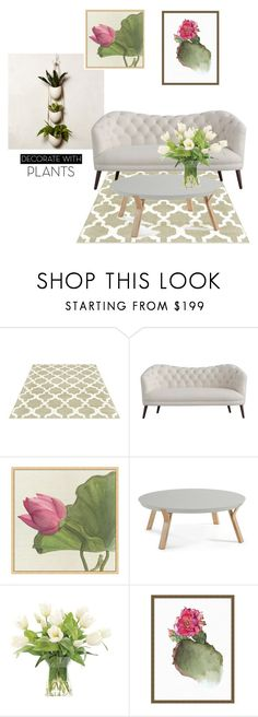 """""""Untitled #1132"""" by pamela-802 ❤ liked on Polyvore featuring interior, interiors, interior design, home, home decor, interior decorating, Pottery Barn, NDI, plants and planters"""