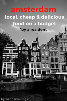 Budget traveling or backpacking on a budget through Amsterdam? This is a locally made guide for anyone looking for healthy, delicious, local, AND cheap food all under 10€ in Amsterdam by a resident. Eating on a budget can be great if you know where to eat via insider tips and foodie advice at restaurants that are off the beaten path. Comes with FREE offline map!