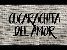 CUCARACHITA DEL AMOR - TUTORIAL - PASO A PASO - YouTube Embroidery Techniques, Embroidery Stitches, Needlework, Cross Stitch, Quilts, Sewing, Applique, Youtube, Dish Towels