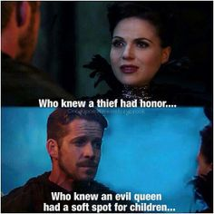 The beginning of Regina (Lana Parrilla) and Robin Hood (Sean Maguire) Episode 3.13 Witch Hunt #OUAT #OutlawQueen