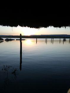 Puesta de sol en San José de Gracia Aguascalientes.