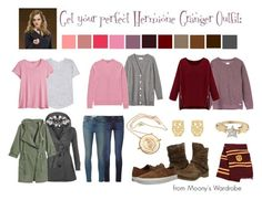 """Get your perfect Hermione Granger Outfit"" by evalupin ❤ liked on Polyvore featuring rag & bone, Calypso St. Barth, RVCA, Uniqlo, WithChic, WearAll, Teva, Vans, Accessorize and Talia Naomi"