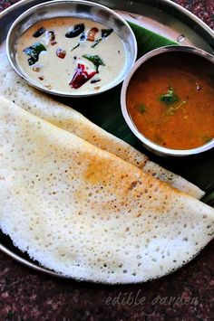 Dosa with Sambar and Chutney from my Mom's kitchen Note: This is a long and detailed post on how to make plain dosa at home with lots of tips and FAQs at the end.  Dosa is soul food for me. I often tell TH how I can make and eat dosa every day for a...Read More »