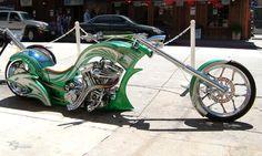 Jeff Nickell of Nickell's Custom Bike Designs in Lodi, California