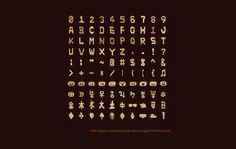 Faena Sphere | DNAlphabet: una fuente tipográfica hecha de información de ADN