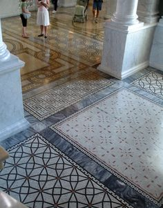 Inspiration ~ Flooring at the Library of Congress