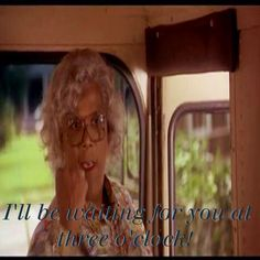 Love this part of Madea's Family Reunion!!!My fav part of all the Madea movies!