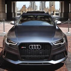 «You can never go wrong with a stare of an RS6.  Car: 2014 Audi RS6 Avant (560hp, V8 4.0 TwinTurbo) Color: Daytona matte grey Performance: 0-100kmh 3.68sec…»