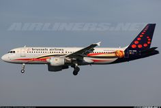 """Brussels Airlines """"Belgian Red Devils""""Airbus A320-214 @ BRU"""