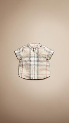 """Burberry """"Faded Check Shirt"""""""