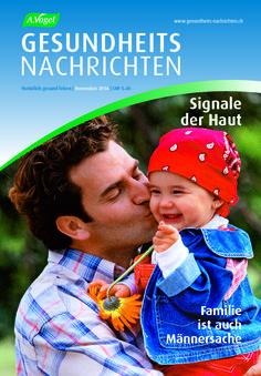 """November-Ausgabe der Zeitschrift """"A.Vogel Gesundheits-Nachrichten"""". Schwerpunktthemen und weitere Informationen: http://www.avogel.ch/de/gesundheits-nachrichten/abo/"""
