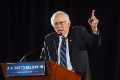Bernie Sanders,  bullet hole found in campaign headquarters sign the very same day he appeared there.