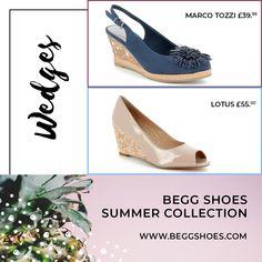 Wedge Heels, Shoes Heels, Womens Shoes Wedges, Summer Shoes, Summer Collection, Platforms, Espadrilles, Range, Seasons