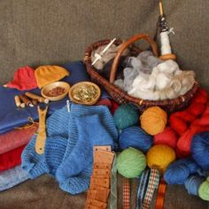 Nalbindning, Sprang, Tablet-weaving, Textiles and naturally dyed yarns of the Anglo-Saxon period. Weorod