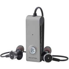 Phiaton BT 220 NC Wireless Bluetooth Headphones – Active Noise Cancelling Bluetooth Headphones with Long Battery Life and Wireless Headphone Mic Top Bluetooth Headphones, Best In Ear Headphones, Best Earbuds, Wireless Noise Cancelling Headphones, Dynamic Range, Speakers, Bass, Technology, Tecnologia
