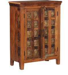 Credenza Multicolore Legno massello di sheesham CS-1848104 X 76 X 40 CM | Arts of India – Italy