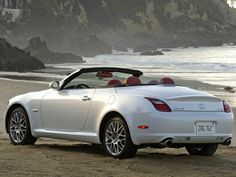 2007 Lexus SC Pebble Beach Edition Hardtop Convertible - Rear And Side Top Down
