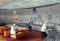 the Soviet nuclear power station