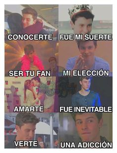 QUE BONITOOOO❤❤❤ Shawn Mendes Memes, Dont Love Me, Mendes Army, Cole Sprouse, Normal Life, Magcon, Handsome Boys, Celebrity Crush, Bts Memes