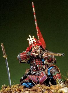 Japanese History, Asian History, Japanese Art, Samourai Tattoo, Samurai Armor, Samurai Helmet, Japanese Warrior, Ghost Of Tsushima, Toy Soldiers
