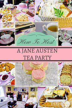 How to host your very own Jane Austen tea party!  Menu ideas, games, and decoration tips for a fun and elegant bridal shower or birthday party.  #janeaustenparty #teaparty #bridalshowerideas