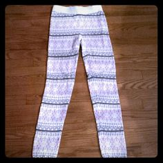 Lowest Price Leggings  These are super comfy! Work great for just relaxing around the house. Size xs. SO Pants Leggings