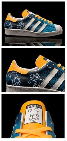 "adidas Originals Superstar 80s ""PoQee"" by Benji Blunt"