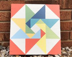 Red, White and Blue. Barn Quilt Designs, Barn Quilt Patterns, Quilting Designs, Block Patterns, Bird Quilt Blocks, Star Quilts, Painted Barn Quilts, Barn Art, Barn Wood Signs