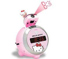 Hello Kitty clock