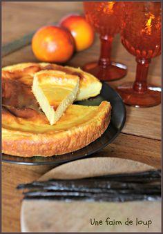 une faim de loup: Gâteau à la semoule et ricotta....la tradition pour le carnaval en Campanie...