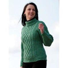 W210 220 Superwash Lattice Knit Sweater and Hat (Free)