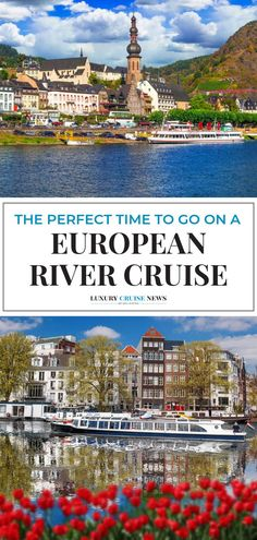 Ask a handful of people when the best time of the year to go on a river cruise in Europe is and you'll get a host of different answers. In our experience, sailing in May and September enhances the experience for a number of reasons: the crowds are light, the weather is typically comfortable and water levels are adequate for cruising. - Luxury Cruise News #rivercruise #europecruise #luxurycruise