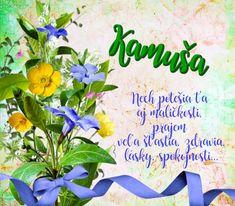 Kamuša - prianie k meninám