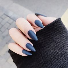 Dark Blue Nails, Purple Nails, Red Nails, Swag Nails, Hair And Nails, Acrylic Nail Tips, Matte Nail Art, Almond Acrylic Nails, Nextgen Nail Colors