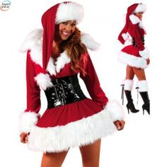 Cheap Stretch Velvet Lingerie Costume online - All Products,Sexy Costumes,Christmas Costume Costume Sexy, Costume Dress, Corset Sexy, Christmas Costumes, Santa Costumes, Halloween Costumes, Infant Halloween, Halloween Couples, Fairy Costumes