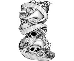 Skulls Tattoo Design Tatoo