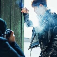 """Even in the gray city, his gaze that is filled with diverse narratives is shining with a strong presence. The deep charisma of actor Ji Chang Wook, who is back with his movie """"Fabricated City… Ji Chang Wook, Dramas, Netflix Upcoming, Fabricated City, Han Ji Min, Photoshoot Bts, Lee Bo Young, Ideal Girl, Kbs Drama"""