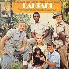 I LOVED this show: Daktari with a chimpanzee and Clarence the Cross-eyed Lion.  And does anyone remember TV episode soundtracks?