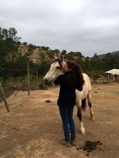 Our horse ranch volunteer: Kathi