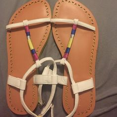 London Rebel sandals London Rebel sandals from Delias. Size 9 Shoes Sandals